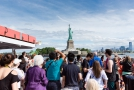 First View of Statue of Liberty
