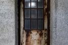 Steel door with windows