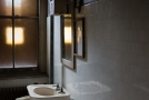 Room with toilet and sink