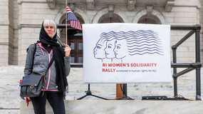 RI Women's Solidarity Rally